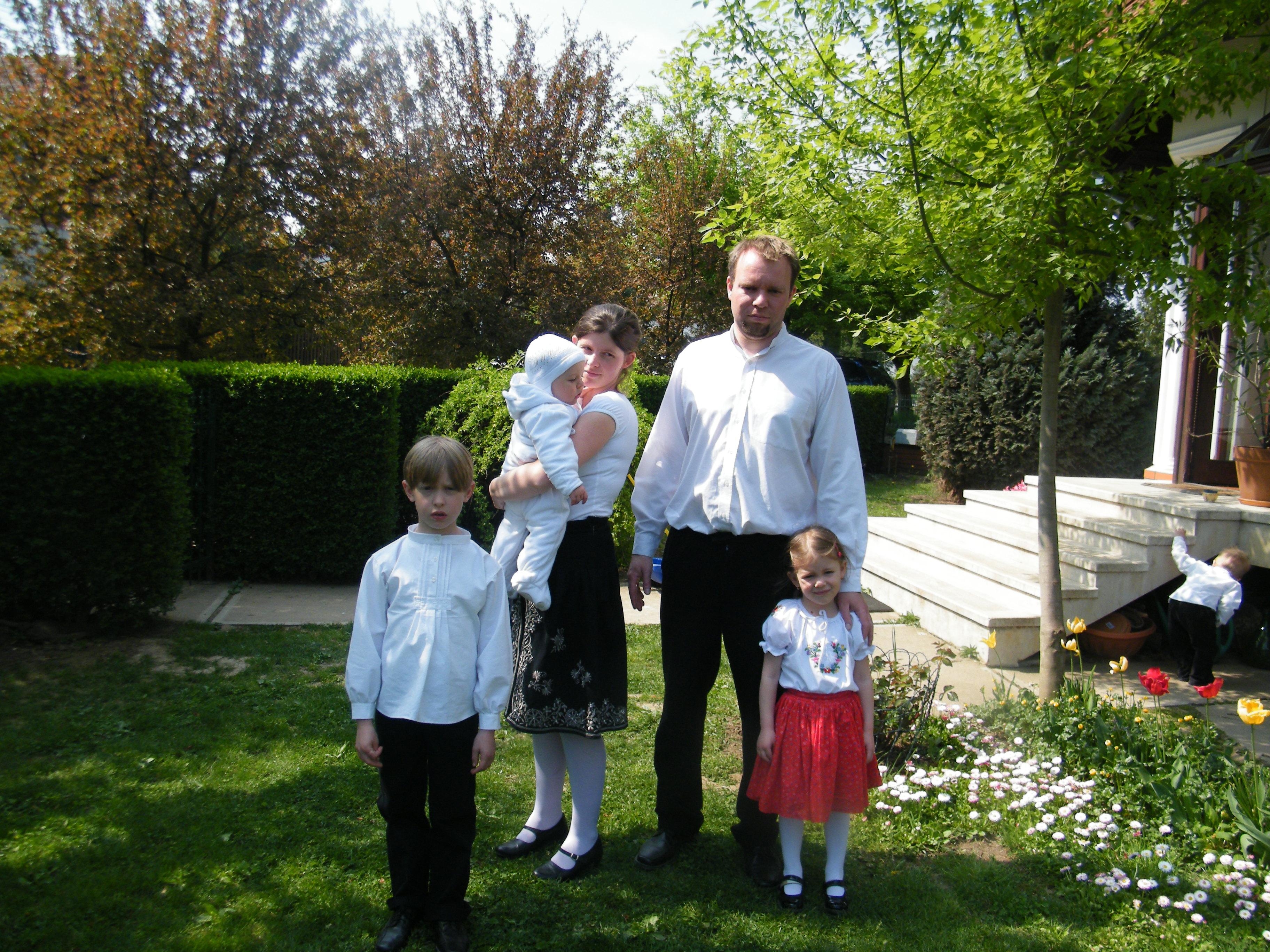 kulcsar gergely és 4 gyermeke